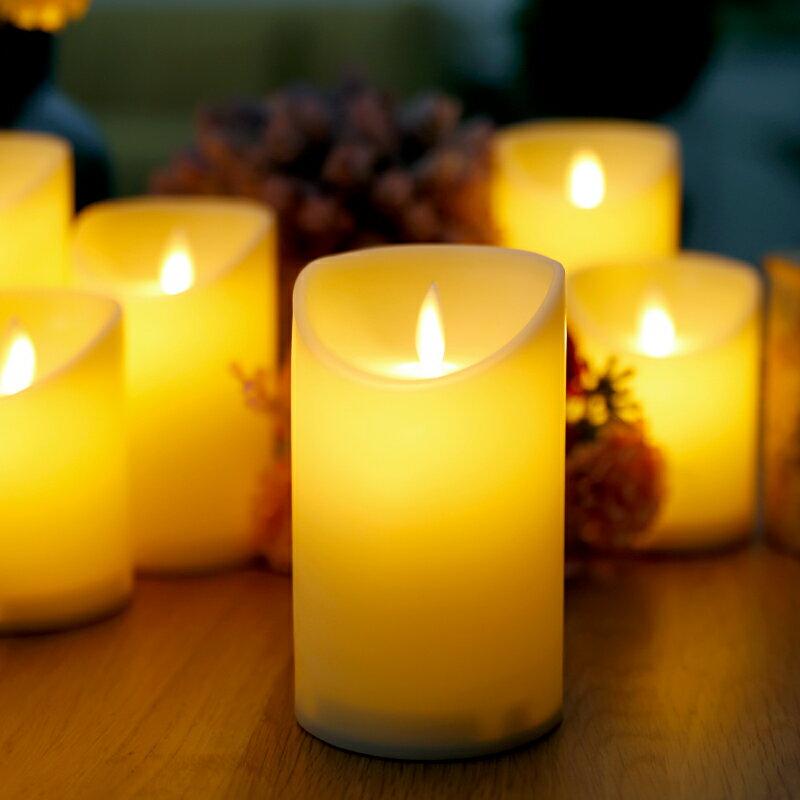 led電子蠟燭燈 搖擺燈芯仿真蠟燭燈假蠟燭婚慶浪漫表白引路燈