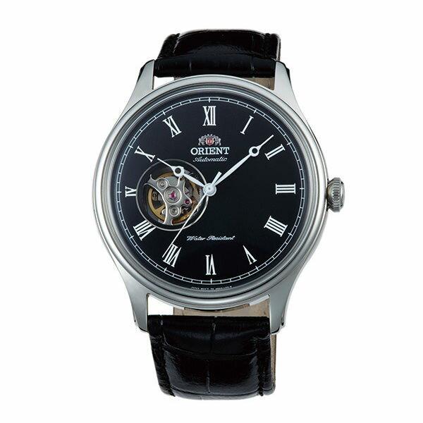 Orient東方錶FAG00003BSEMI-SKELETON系列半鏤空機械錶黑面43mm