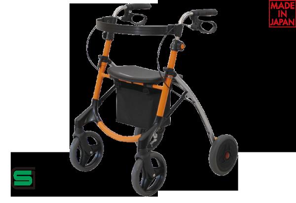 UWalker步行車-橘●具有控制速度與防水功能*日本設計進口*『康森銀髮生活館』無障礙輔具專賣店