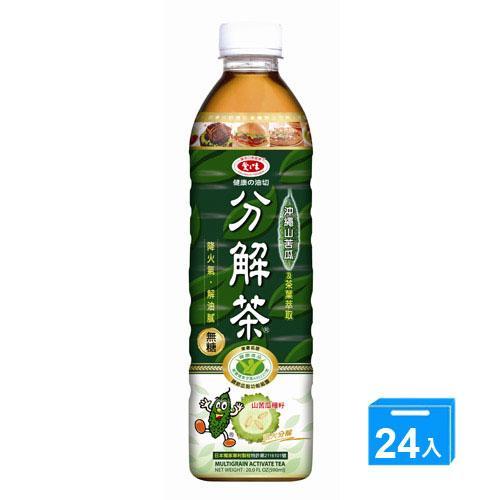 愛之味健康油切分解茶590MLx24入【愛買】 1