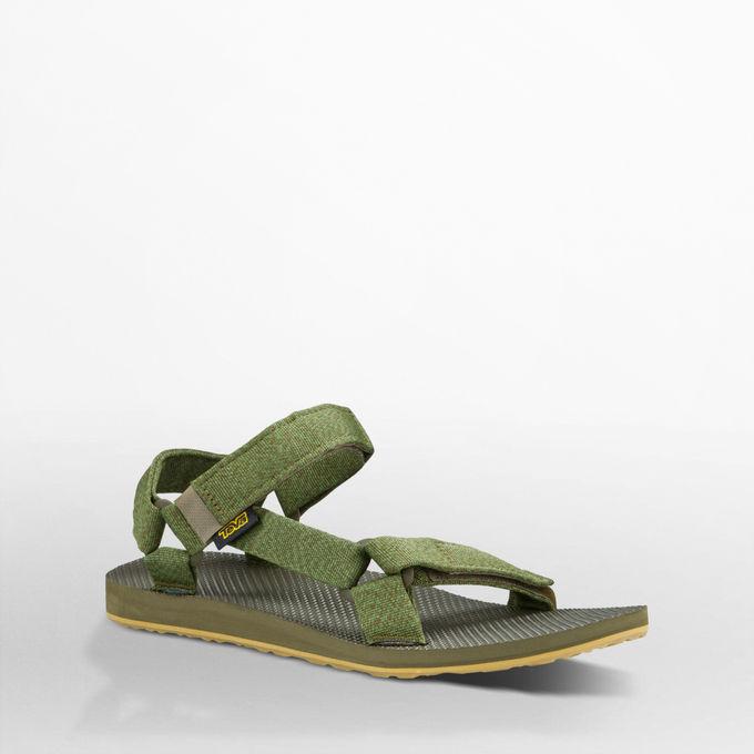 《台南悠活運動家》Teva 美國 男款戶外織帶涼鞋 花紗橄欖綠1004006MODL