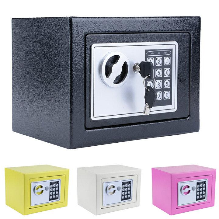 "9"" Digital Safe Box Electronic Security Wall Jewelry Cash Storage 0"