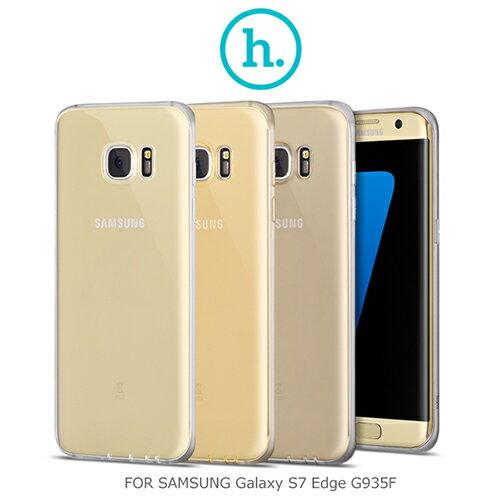 【愛瘋潮】HOCO Samsung Galaxy Galaxy S7 Edge G935F 輕系列TPU 果凍套 超薄套 手機殼