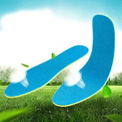 PS Mall 可裁剪運動鞋墊 加厚減震鞋墊 跑步透氣吸汗鞋墊【S160】