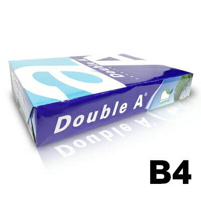 【文具通】Double A 達伯埃 影印紙 噴墨 雷射 影印 B4 80gsm 白色 500張/包 含稅價 P1410299