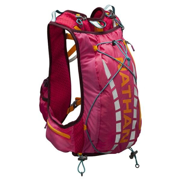 NATHAN - VaporAiress輕量超馬水袋背包(2L) 紅色 NA4527NSCC 送套頭式汗樂導汗帶顏色任選