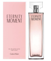 送女生聖誕交換禮物到CALVIN KLEIN CK Eternity Moment 永恆時刻女性淡香精 50ML ☆真愛香水★ 聖誕交換禮物女生