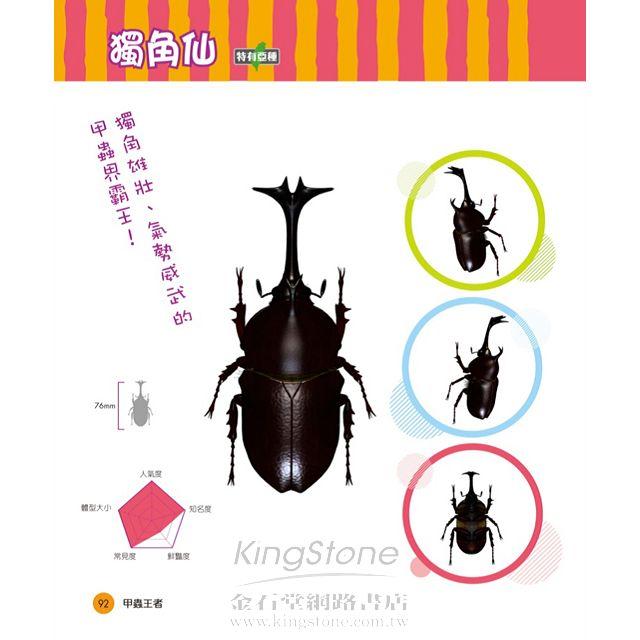 甲蟲王者:50隻最強、最美的台灣獨角仙、鍬形蟲圖鑑 9