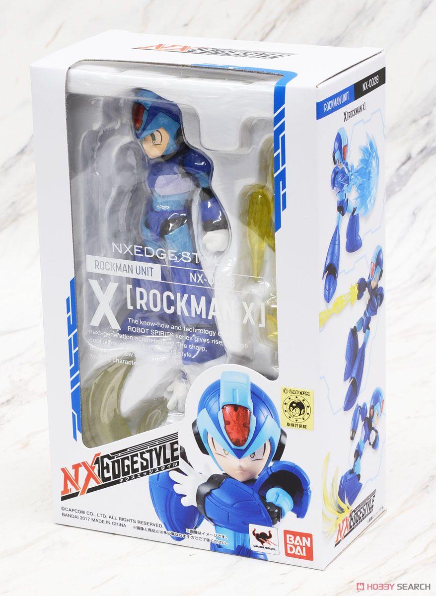 ◆時光殺手玩具館◆ 現貨 公仔 NX NXEDGE STYLE ROCKMAN UNIT 洛克人X