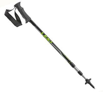 【露營趣】中和 德國 LEKI 6322017 鋁合金登山杖 鎢鋼杖尖 橡膠握把
