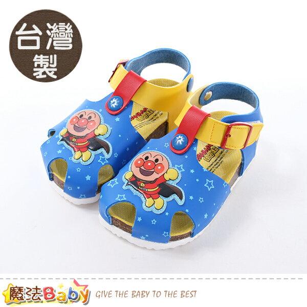 童鞋台灣製麵包超人正版兒童涼鞋魔法Baby~sa80426