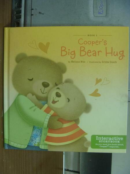 【書寶二手書T2/語言學習_MPE】Cooper's big bear hug