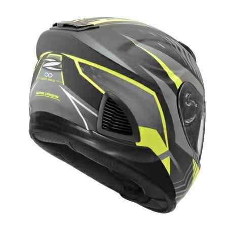 任我型騎士部品 ZEUS 1600 AK6 灰 消光 碳纖維 全罩 安全帽 送好禮五選一