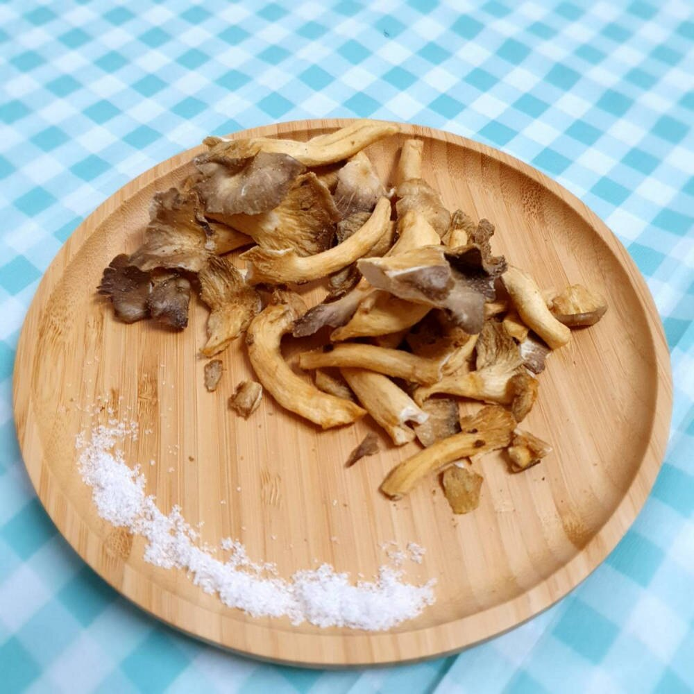 【朝瑞農場】秀珍菇脆餅-原味(100公克)~聊天.聚會.團購.伴手禮~