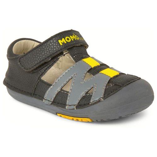 541f4755807e Momo Baby Boys Sandal Shoes - Mason Black Gray (First Walker   Toddler)