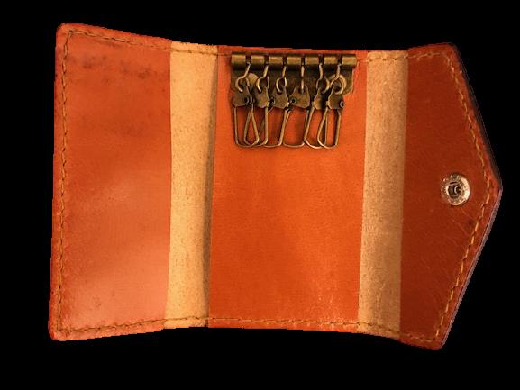 免運 樂木良品 Las Woodies 手作 皮質鑰匙包 長短都適用皮革排扣鑰匙包 手作皮件 真皮植鞣革客製化 手工皮件 收納包