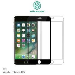 【東洋商行】APPLE iPhone 8 / 7 4.7吋 NILLKIN XD CP+ MAX 滿版玻璃貼 疏油疏水 9H硬度 螢幕玻璃保護貼 滿版保護貼