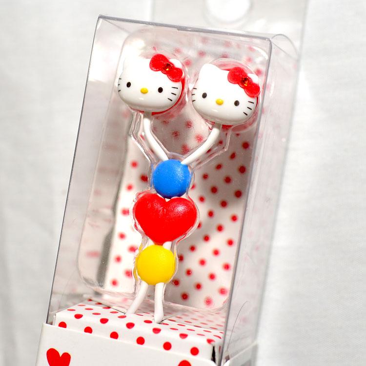 Hello Kitty 凱蒂貓 造型耳機 耳塞 日本帶回 日本國內販售