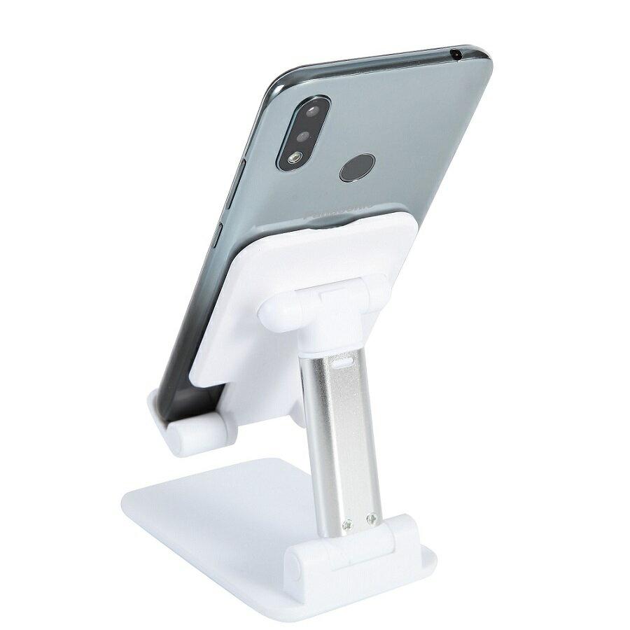 《省您錢購物網》全新~可摺疊桌面手機支架/可摺疊平板支架