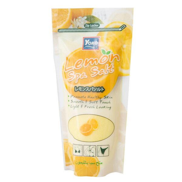 【 YOKO 】優? 檸檬精華 SPA 精油 雙效 乾式 去角質 泡浴鹽 300g 沐浴鹽 原裝進口 - 005478