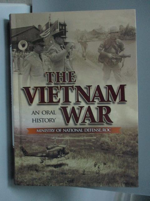 ~書寶 書T8/歷史_LKR~THE VIETNAM WAR..._曾瓊葉