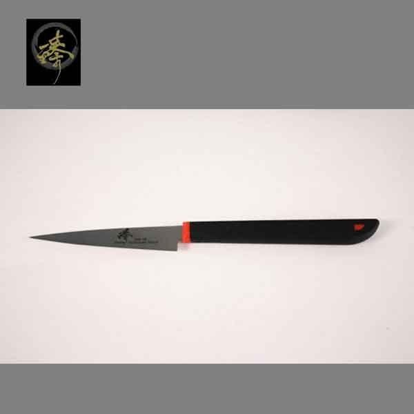 料理刀具 三合鋼系列--9cm刻花刀 〔臻〕高級廚具-SC014-12(M)