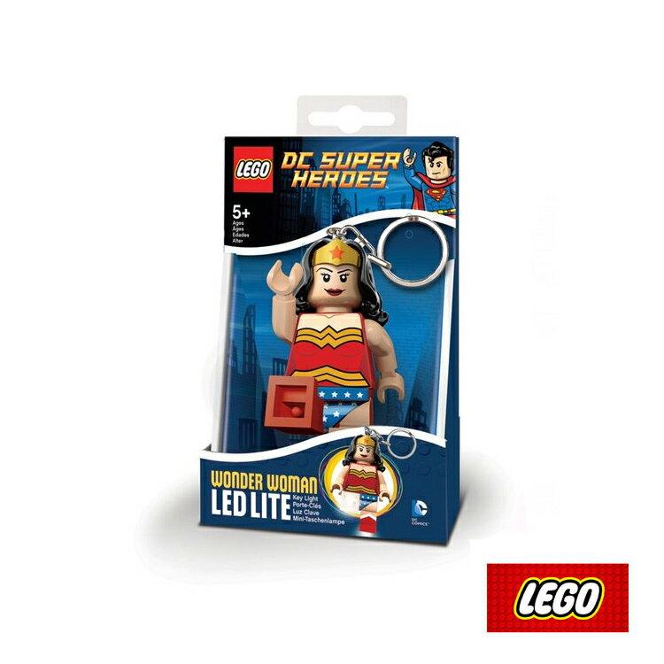 LEGO 神力女超人鑰匙圈LGL-KE70/城市綠洲(鑰匙圈、樂高、遊戲、LED照明燈)