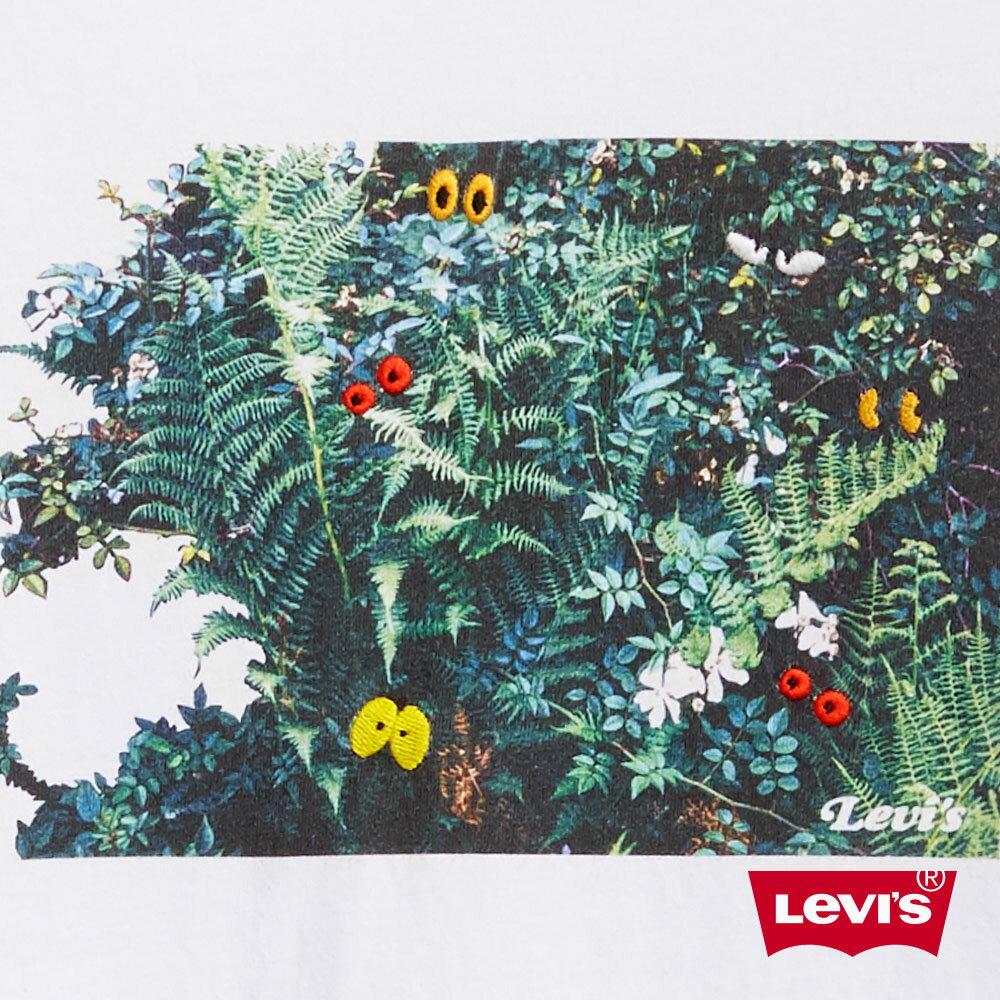 Levis 男款 短袖T恤  /  逗趣花草印花  /  220GSM厚棉  /  寬鬆休閒版型-AC 0