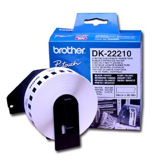 深見廣行科技:brotherDK-2221029mm耐久型紙質標籤紙(QL5005505706501050專用)