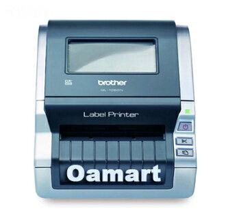 Brother QL-1060N 網路型超高速大尺寸條碼列印標籤機(贈 DK-22214標籤帶二捲)