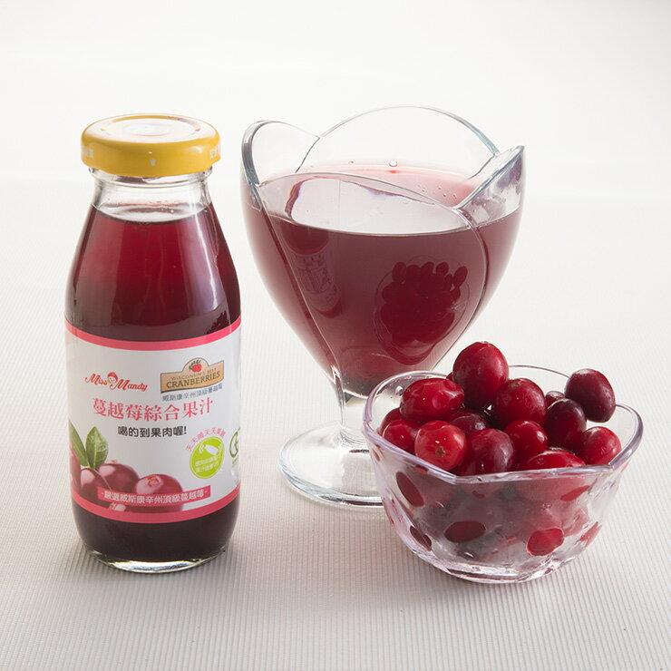 蔓越莓綜合果汁(200ml/瓶)
