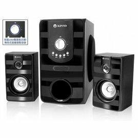 【壹品家現代生活館】KINYO 金葉 KY-7380耐嘉 2.1聲道重低音音箱/ 3000W / 無段式音量調節旋鈕(免運費)