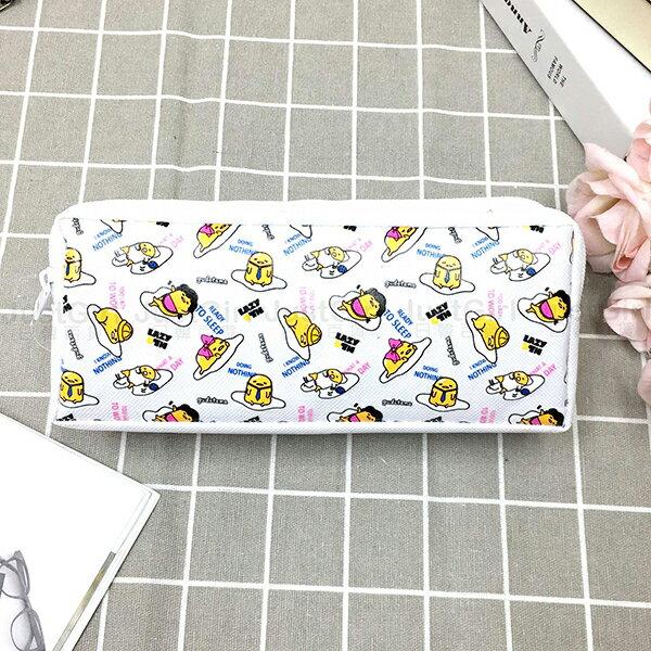 蛋黃哥軟爛聯盟鉛筆盒筆帶化妝包萬用收納包文具配件正版日本授權JustGirl