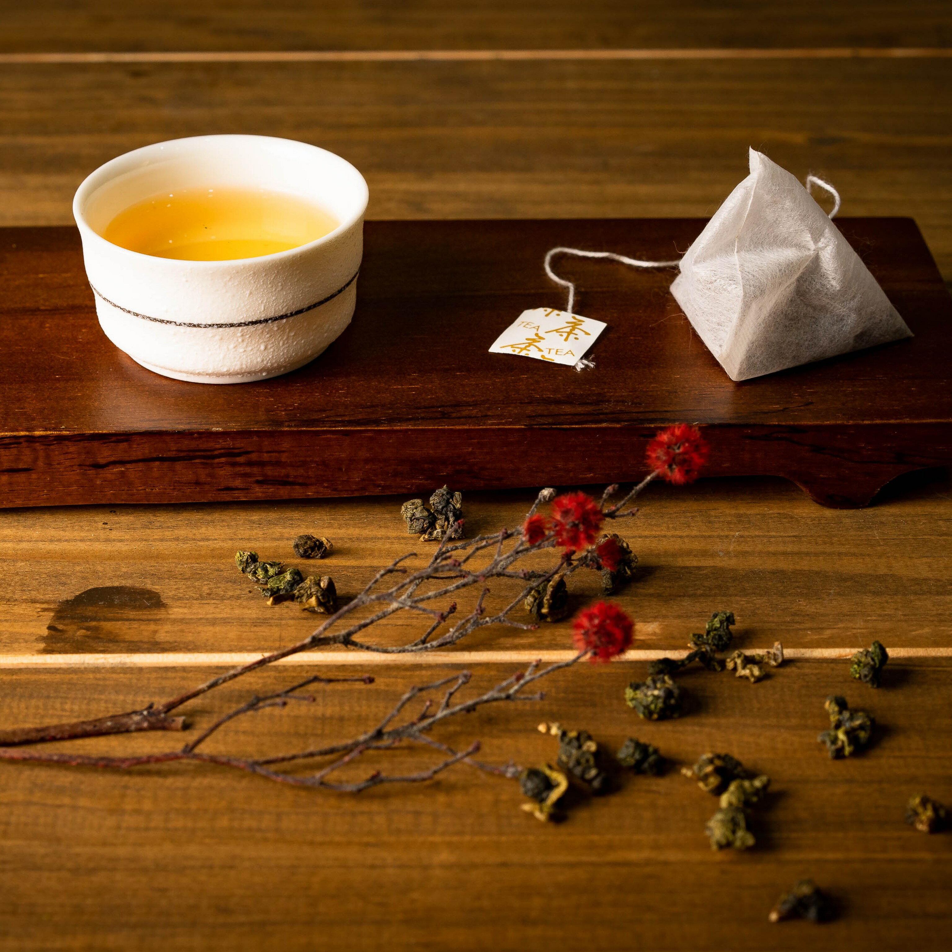 【梨山茶茶包禮盒 30入/盒】 頂級台灣茶 沉穩濃郁香氣 回甘好味道 【定興茗茶 DINSHIN】