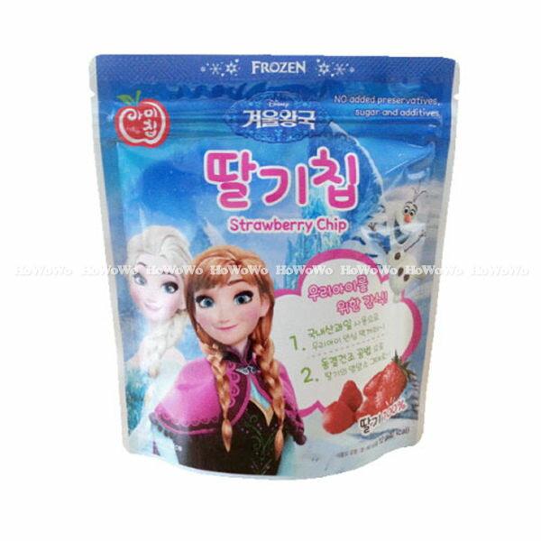 韓國 NATURAL CHOICE 自然首選 冰雪奇緣幼兒水果脆片-草莓口味 BGC7525 好娃娃
