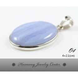 ∮和諧世界珠寶中心∮【O4】藍紋瑪瑙 Blue Lace Agate