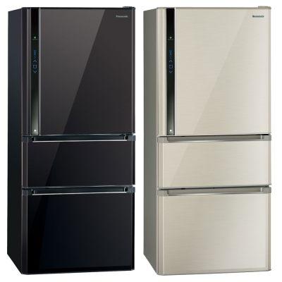 Panasonic 國際牌 610L 雙效科技變頻三門冰箱 NR-C618NHV (光釉黑/香檳金)【零利率】※熱線07-7428010