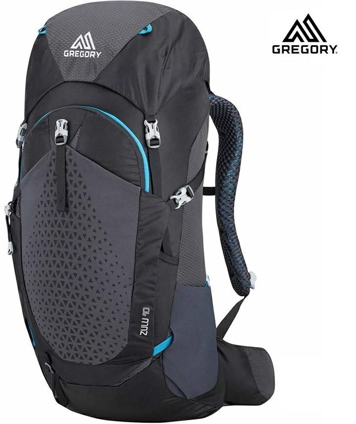 Gregory Zulu 40 登山背包/登山包 男款40升 111590 臭氧黑7416 M/L