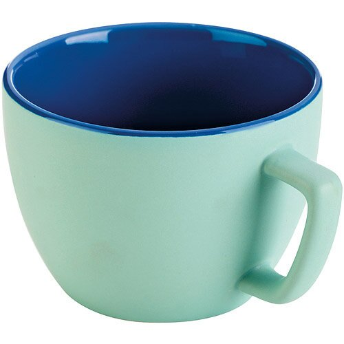 《TESCOMA》Crema雙色馬克杯(湖綠600ml)
