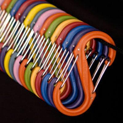 【鄉野情戶外用品店】 Nite Ize |美國|  S-BINER 2號塑膠S型雙面扣環/NI SBP2-03