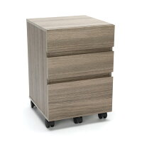 Essentials by OFM ESS-1030 3-Drawer Wheeled Mobile Pedestal Cabinet