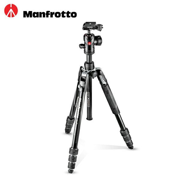◎相機專家◎ManfrottoBefreeAdvanced2018最新款三腳架套組旋鈕式MKBFRTA4BK-BH公司貨