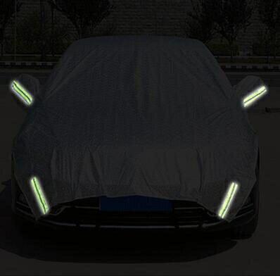 汽車引擎蓋半罩車衣車罩加長SUV越野轎車前擋防曬隔熱遮陽擋加厚 - 限時優惠好康折扣