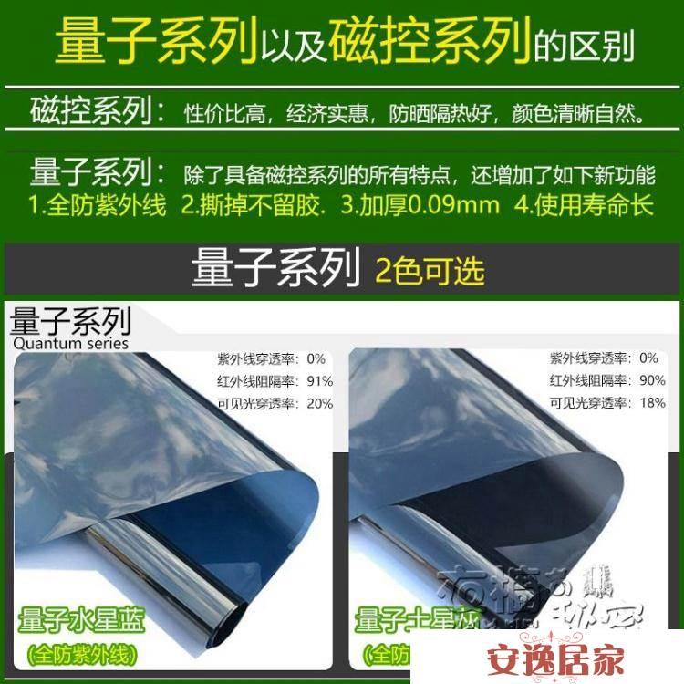 防曬隔熱膜單向透視玻璃貼膜家用窗戶玻璃貼紙防窺視陽臺遮光遮陽HM