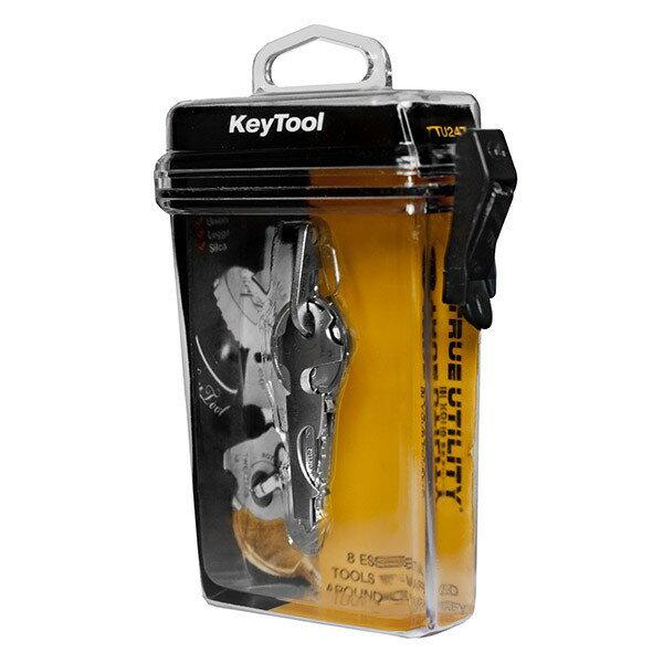 ~愛露愛玩~~True Utility~KeyTool 8合1迷你鑰匙圈工具組