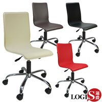 LOGIS邏爵~歐式品味皮革事務椅/電腦椅(四色)*020A*