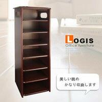 LOGIS邏爵~胡桃七層櫃 矮櫃 收納櫃 角落櫃 玄關櫃 鞋櫃 SH660