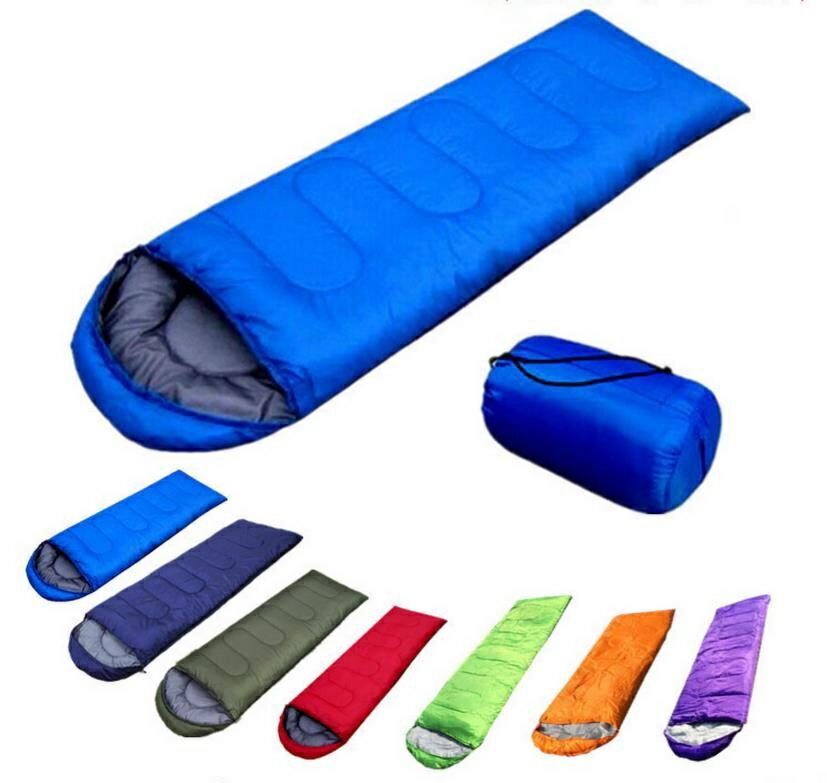 高級棉睡袋-露營用品(附收納袋)表布防潑水