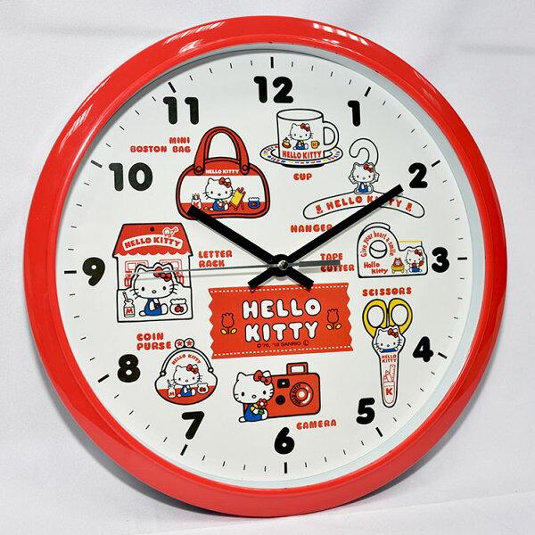 HelloKitty時鐘掛鐘靜音日本帶回正版商品