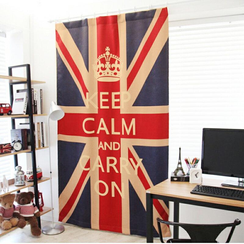 +英國旗經典遮光窗簾【United Kingdom米字旗】室內設計最流行配件+